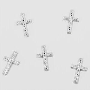 25 Kreuze Streu Deko Tischdekoration für Konfirmation Taufe Kommunion