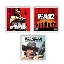 Red Dead Redemption Coaster Set Game Box Art