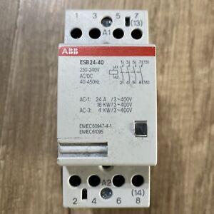 ABB Schaltschütz ESB24-40
