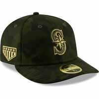 Seattle Mariners New Era MLB Armed Forces Day On-Field Low Profile 59FIFTY