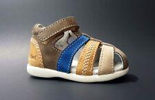 New $70 Kickers Infant Babysun Boys Girls Sandals Leather Size 3,5 Usa/19 Euro