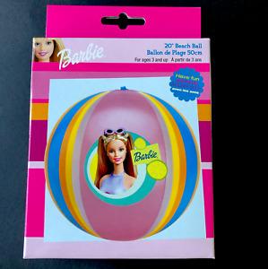 New Vintage Mattel Barbie Beach Ball Summer Pool Fun Float