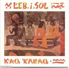 Leb i sol CD Kao cacao album 1987 vlatko stefanovski Makedonija srbija Croatie