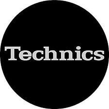 MAGMA Technics Simple T2 Slipmats (pair Black & Silver)