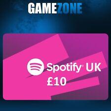 Spotify Premium £10 Gift Code GBP UK Spotify 10 Pound United Kingdom