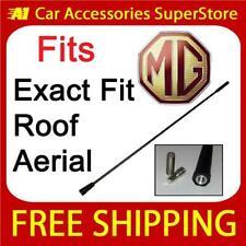 MG TF car antenna AM//FM EXTRA SHORT bee sting roof mast 16.5cm BLACK