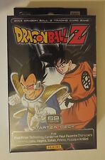 DBZ Dragonball Z 2014 Set Starter Deck SEALED Panini Bandai Funimation