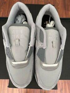 Nike Air Max 90 Premium Euro Exclusive DA1641-001 Smoke Grey Size 10.5 NEW w Box