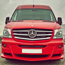 GRILLE, HABILLAGE CALANDRE  CHROME EN INOX  MERCEDES SPRINTER W906 FL 2014- 5 PS