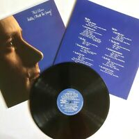 PHIL COLLINS - Hello, I Must Be Going! 1982 Vinyl LP ( You Can't Hurry Love) VG+
