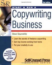 Steve Slaunwhite-Start & Run A Copywriting Business BOOK NUOVO