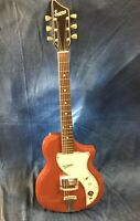 Vintage 1960's Supro Belmont Electric Valco Made Guitar With Original Case