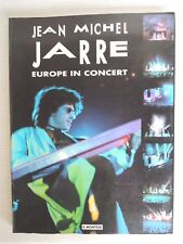 "90' Vintage Rare BOOK Jean-Michel JARRE ""EUROPE IN CONCERT"" The 1993 TOUR"