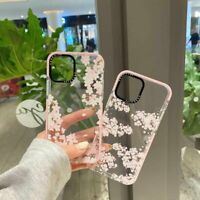 Cherry Blossom Soft Phone Case Cover For iPhone11 Pro Max 12 XR 7 8Plus SE(2020)
