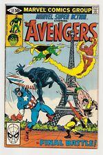 The Avengers - Marvel US - # 32 - The final battle - june 1981