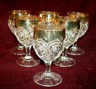 Set of 6 EAPG Water Goblet - STAR IN BULLSEYE Pattern - US Glass ca. 1905