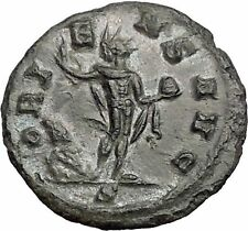 Aurelian  270AD Authentic Ancient Roman Coin Sol with globe Sun God Cult  i55754