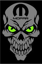 MOPAR Skull decals SVR Sticker Dodge Charger Challenger Ram Dart 1500 Hemi Truck