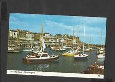 Bamforth Colour Postcard The Harbour  Bridlington  Yorkshire