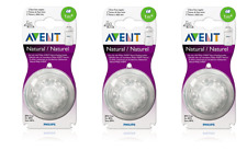 Philips AVENT BPA Free Natural Nipple Shape, Slow Flow...