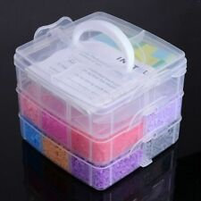 Mixed Color Fuse Beads Kit with Peg Boards Mixed Shapes Ironing Paper 140x140mm