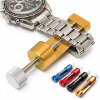 Watch Adjustable Metal Belt Band Bracelet Strap Pin Remover Repair Tool +3 Pins