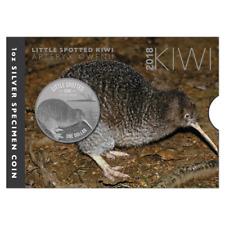 1 $ Dollar Little Spotted Kiwi Neuseeland  2018 1 oz Unze Silber Silver Blister