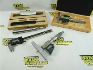 PARTS REPAIR MACHINISTS INSPECTION TOOLS DIGITAL CALIPERS & DEPTH GAGE MITUTOYO
