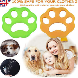 Pet Hair Remover for Laundry Washing Machine Reusable Cat Dog Fur Catcher Pair 2