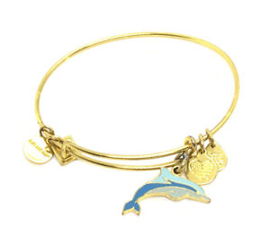 ALEX AND ANI CHARITY BY DESIGN DOLPHIN CHARM ADJUSTABLE BRACELET