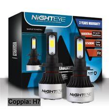 NIGHTEYE H7 72W 9000LM LED Lampadine del Faro Kit Bulbi Auto Luci 6500K Bianco