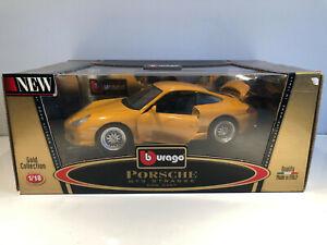 1/18 BURAGO Voiture Miniature PORSCHE GT3 STRASSE