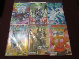 Rick & Morty Comic Lot of 24 NM+ 9.4 1st Print!!!! *** D&D Variants***