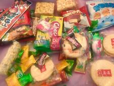 ASIAN SNACK BOX 37 pc Japanese,Korean, and Chinese snacks & candy