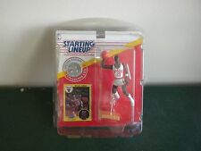 1991 MICHAEL JORDAN DUNKING POSE STARTING LINE UP FIGURE MONM CARD BY KENNER