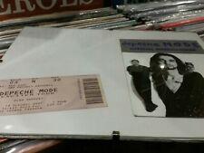 Depeche Mode Exciter Ticket wembley 2001