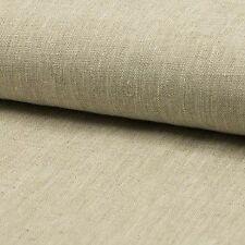0,5 m Toile De Lin dur beige naturel jolis Qualité 260 g/m2 Rideau