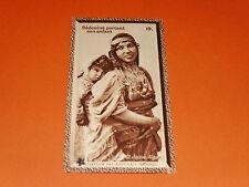 CHROMO PHOTO CHOCOLAT SUCHARD 1930 COLONIES ALGERIE AFRIQUE BEDOUINE ET ENFANT