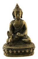 Soprammobile Tibetano Dhyani Budda Ratnasambhava IN Ottone 10 CM 4999 MM