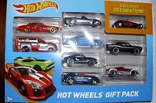 Hot Wheels 9-Pack Gift Pack With Exclusive Decoration