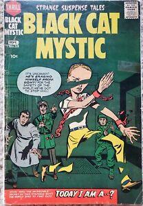 BLACK CAT MYSTIC #59 VG 4.0 HARVEY 9/1957