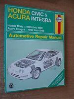 Honda Civic & Acura Integra Automotive Repair Manual (Haynes Automotive Repai…