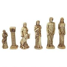 Greek Mythology Mount Olympus Gods Natural Stone Heirloom Chess Pieces