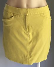 Gorgeous SABA Mustard Yellow Straight Mini Skirt Size 10
