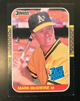 1987 Donruss Mark McGwire Rated Rookie #46