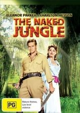 The Naked Jungle (1953) DVD Eleanor Parker-Charlton Heston NEW