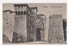 Italy, Perugia, Porta Urbica Etrusca Postcard, A954
