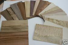 Lot de 25 Placages format 25 x 15 cm ép 0.6mm (placage bois, marqueterie) ib