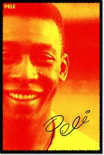 PELE ART PHOTO POSTER FOOTBALL SOCCER Pelé Brazil