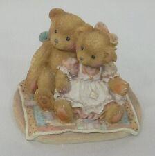 Cherished Teddies Figurine Nathaniel & Nellie Priscilla Hillman Enesco